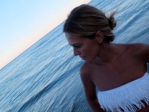 vestido croche playa